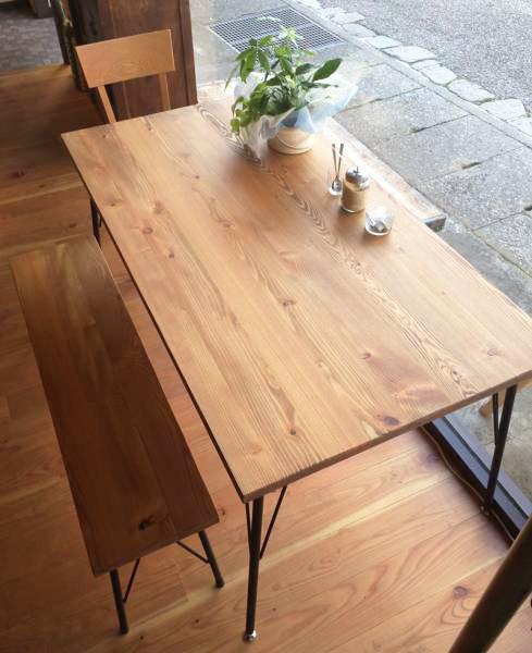 『送料無料』Lalix forest bench set 12*75