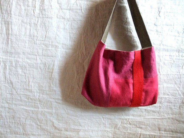 itoiro bag (pink red)