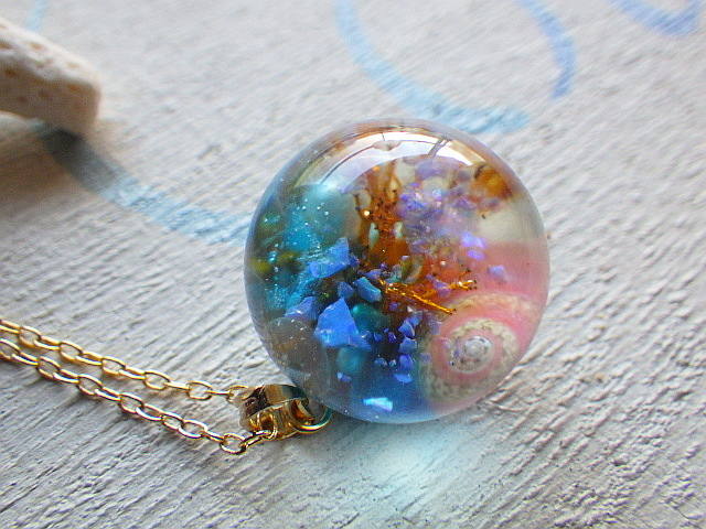 Seascapes Necklace  Y