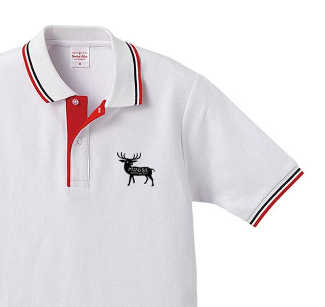 moose  ポロシャツ XS〜XL【受注生産品】