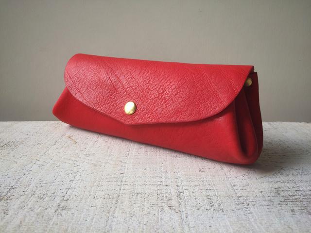 【即納品可能】コロコロ財布 「fave」L(スカーレット)
