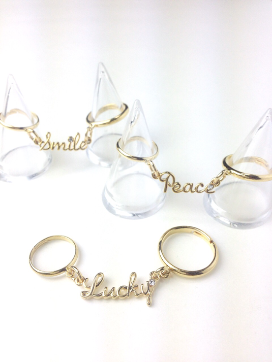 2way lettered ring