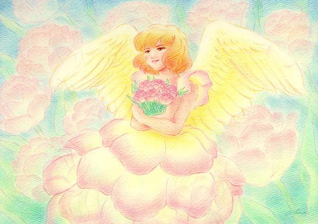 花の天使〜八重咲きチューリップ〜★手...