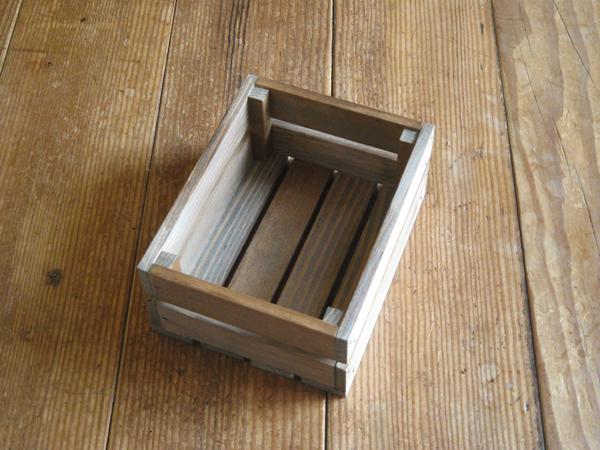 木製ハガキハーフサイズ大ケース/ウォー...