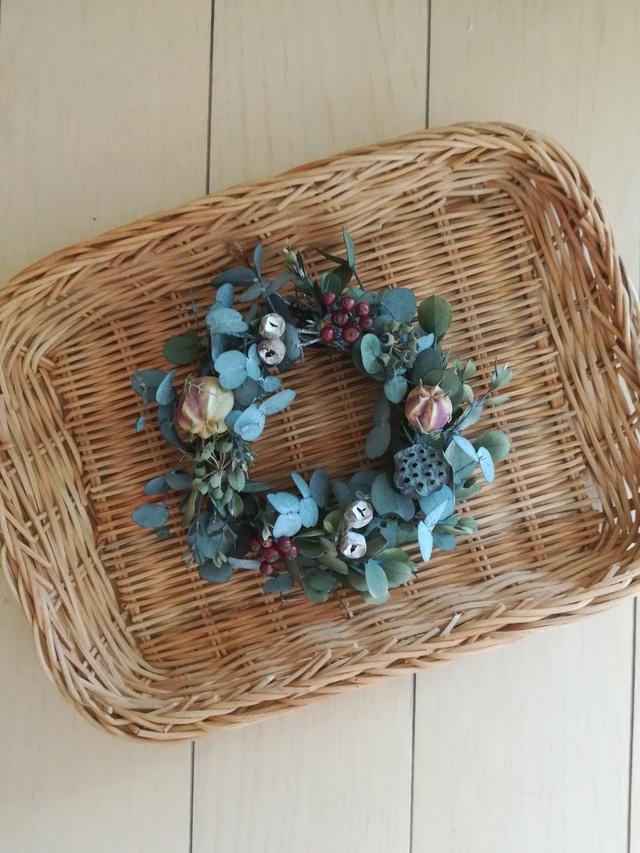 さりげないmini wreath { ユーリ×実物}