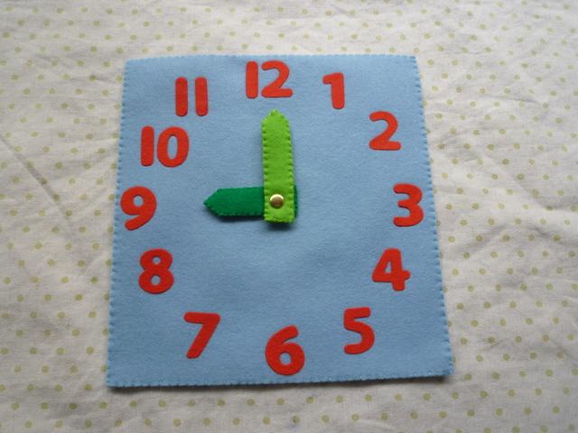 <再販4>時計(水色)