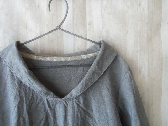 Lsize 小さなセーラー襟のシャツ vinta...