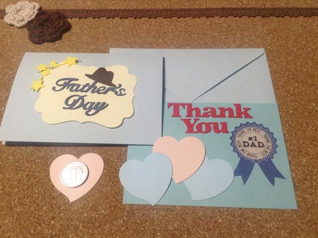 父の日 手作りカード  デコレーション素...