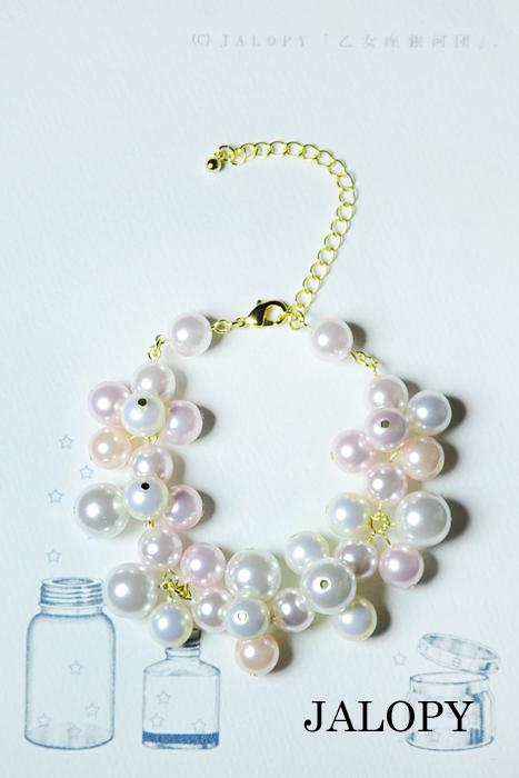 人魚姫の泡ブレスレット