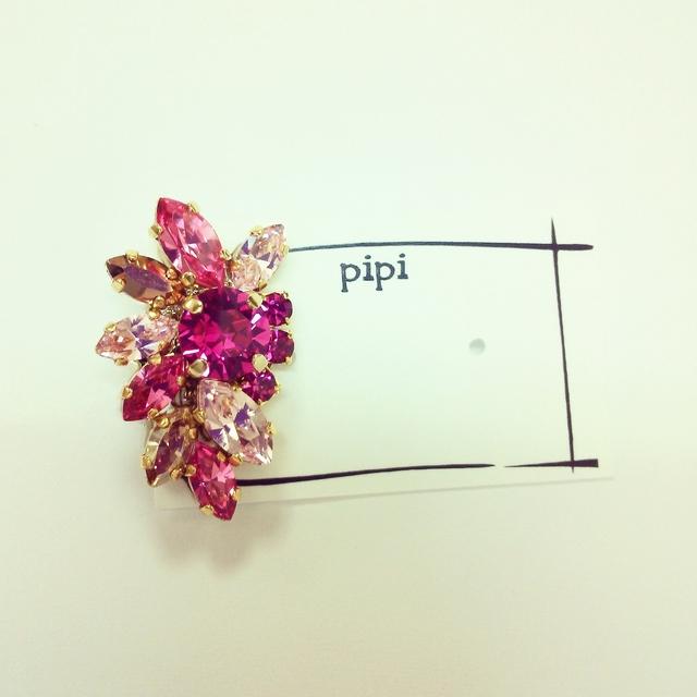 ひろみ様order page◆pink bijou earring