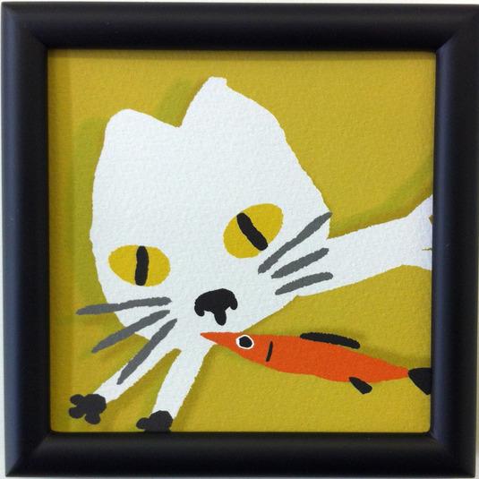 白猫と魚 C-03