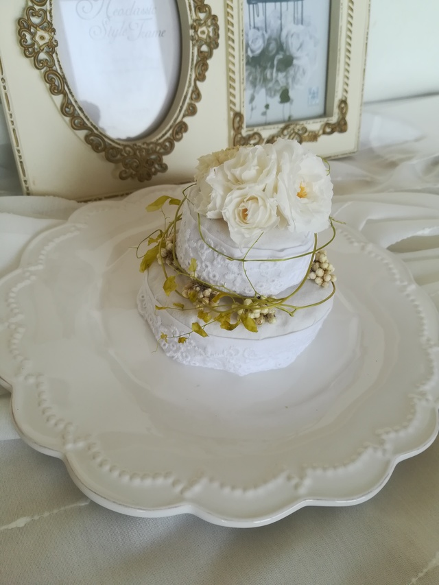 flower mini  cake (wedding )