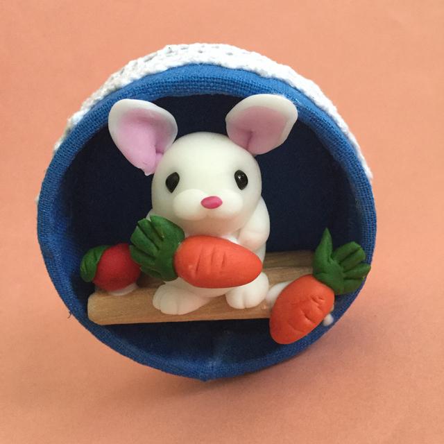 ウサギさんのマグネット