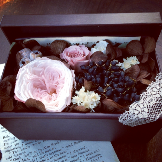 しっくり*Flower Box♪(BRW)