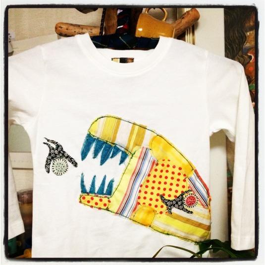 コラージュ Tシャツ 「Notiru」