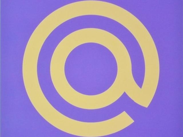 インテリアアート(壁飾り)-紋章@藍