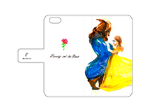 iPhone各機種用手帳型ケース「Beauty and the Beast」