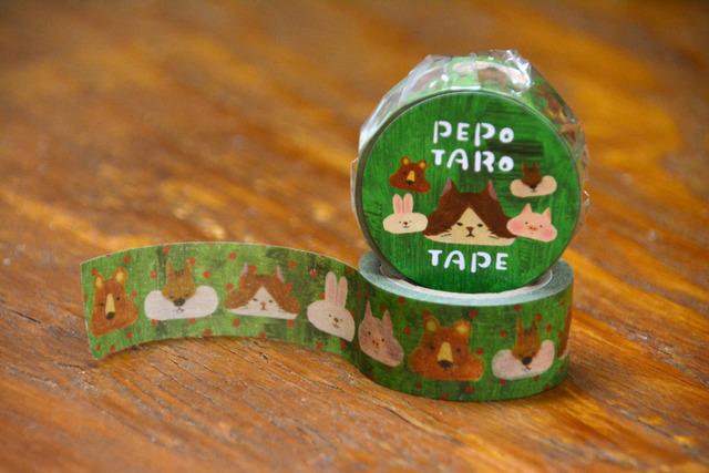 オリジナルマスキングテープ[動物たち...