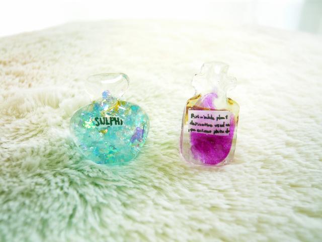 魔法瓶のピアス