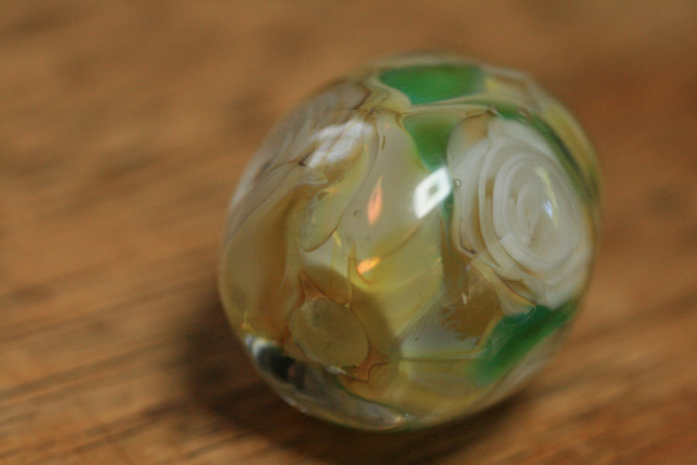 glass beads (とんぼ玉)薔薇玉/シェ...