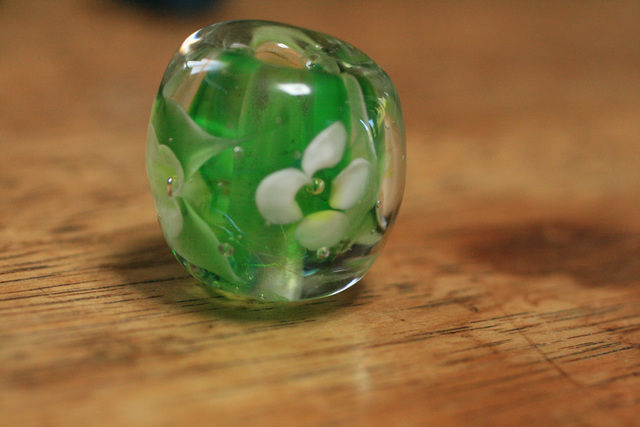 アウトレット glass beads (とんぼ玉...