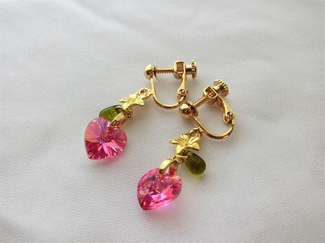 フラミンゴパラダイスのイヤリング