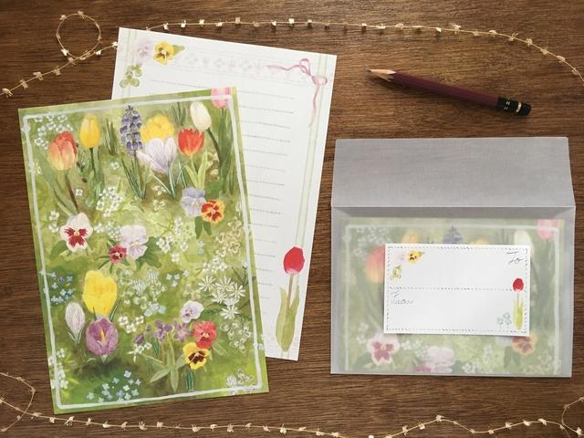 野花のレターセット