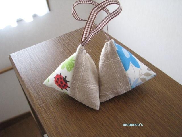 春色サシェ2個セット★再販♪【送料無料】