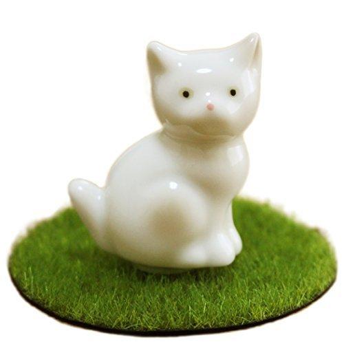 ミニ骨壷 ペット仏具 おすわり 猫 ベー...