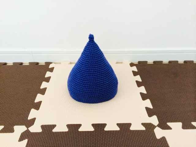 とんがり帽子 baby BLUE