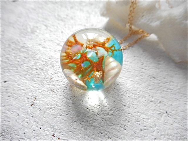 Seascape Necklace 0 (訳あり)