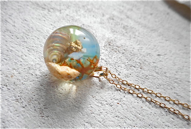 Seascape Necklace P (訳あり)