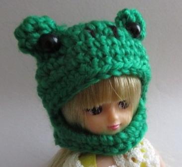 【再販/受注制作】お人形さん用お帽子(...