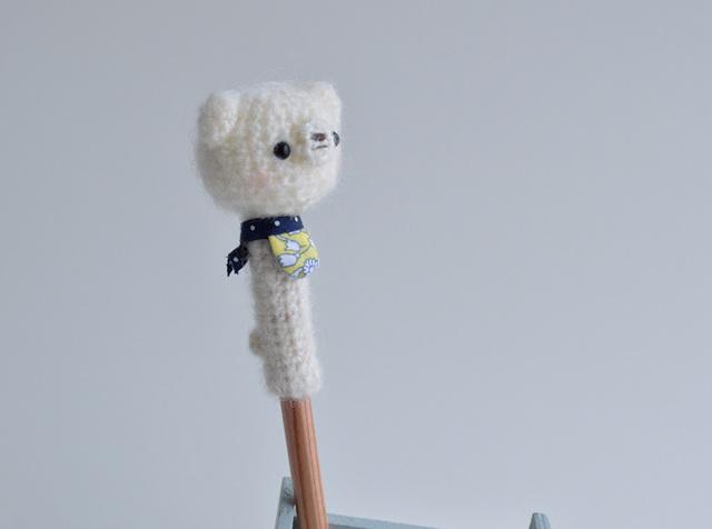 鉛筆帽子|シロクマ