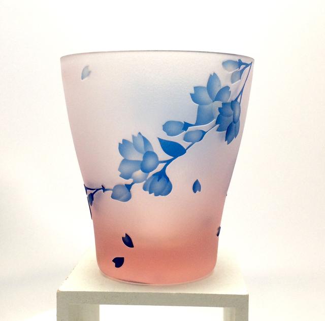 桜舞〜miniオールドグラス/sakura glass