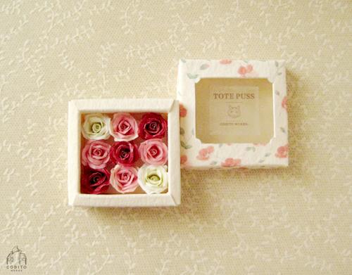 TotePuss 1/12 ミニチュア FLOWER BOX[...