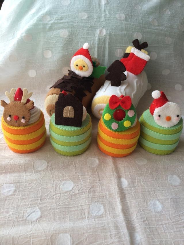 【送料無料】クリスマスケーキ6個セットs様オーダー品