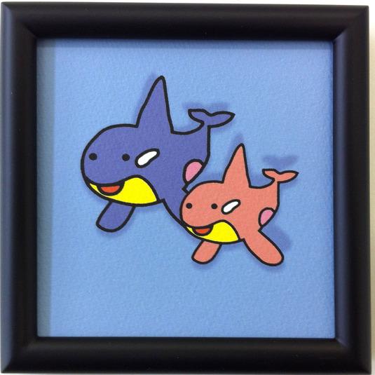 シャチのカップル