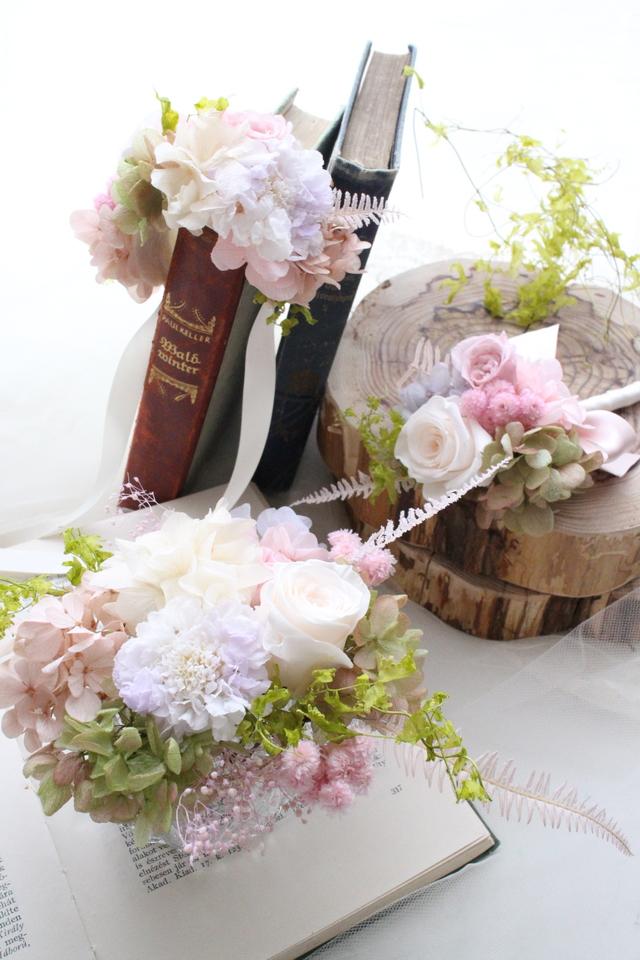 wedding item [ブートニア×ヘッドドレ...