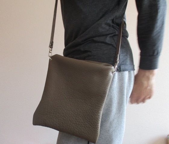 【受注再販】革の袋・2ウェイバッグ・...