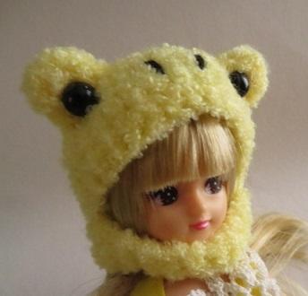 【新色】お人形さん用お帽子(まさかの...