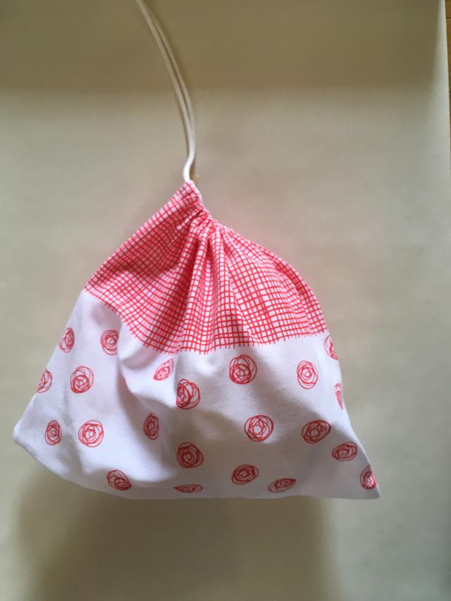 <New!!> tenuguiから作った横長巾着...