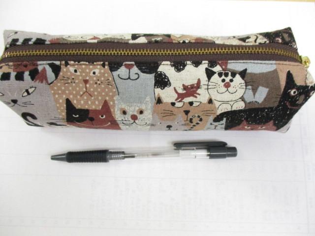 猫 ねこ ネコ ペンケース(たっぷりタ...