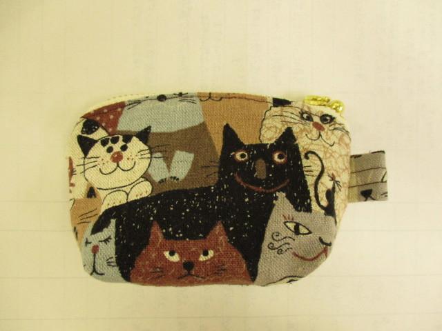 猫 ねこ ネコ ミニミニポーチ