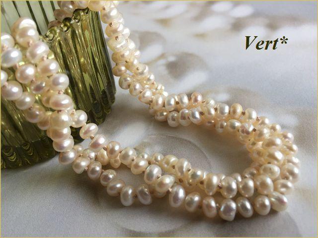 Vert* 【Vermeil】 アイボリーベージュ...