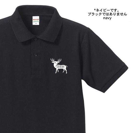 【再販】moose ポロシャツ【受注生産品】