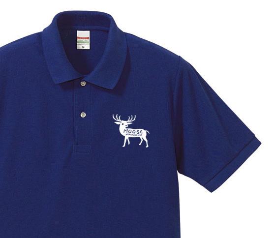 moose ポロシャツ【受注生産品】