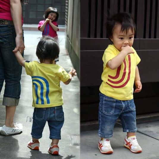【JIKUU】 キッズ3J-Tシャツ『ビビッド』