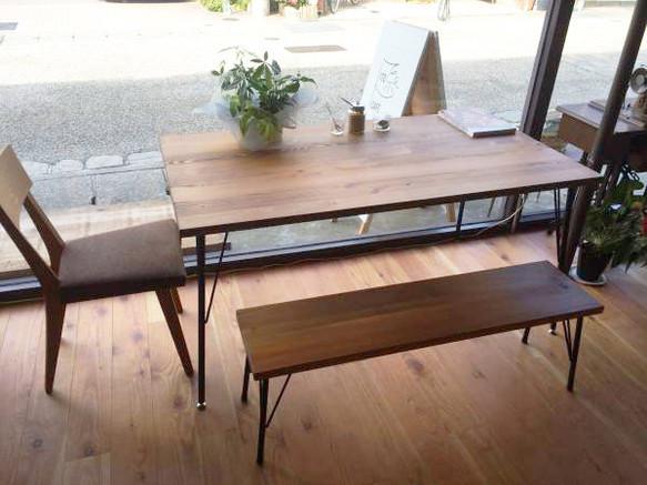 Lalix forest bench 2set 14*75