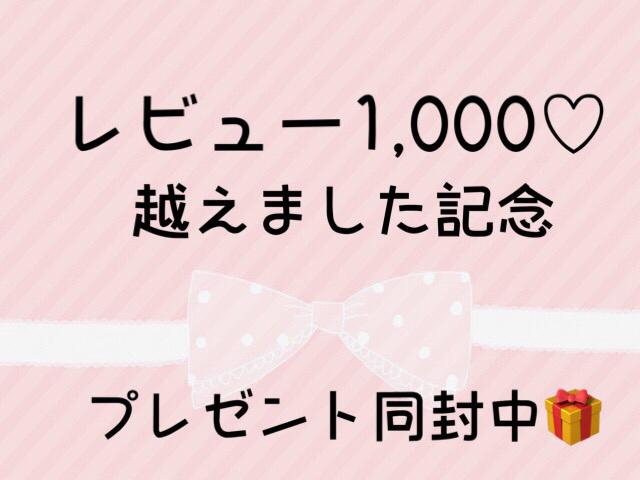 レビュー1,000越え記念?【2点以上ご注文...